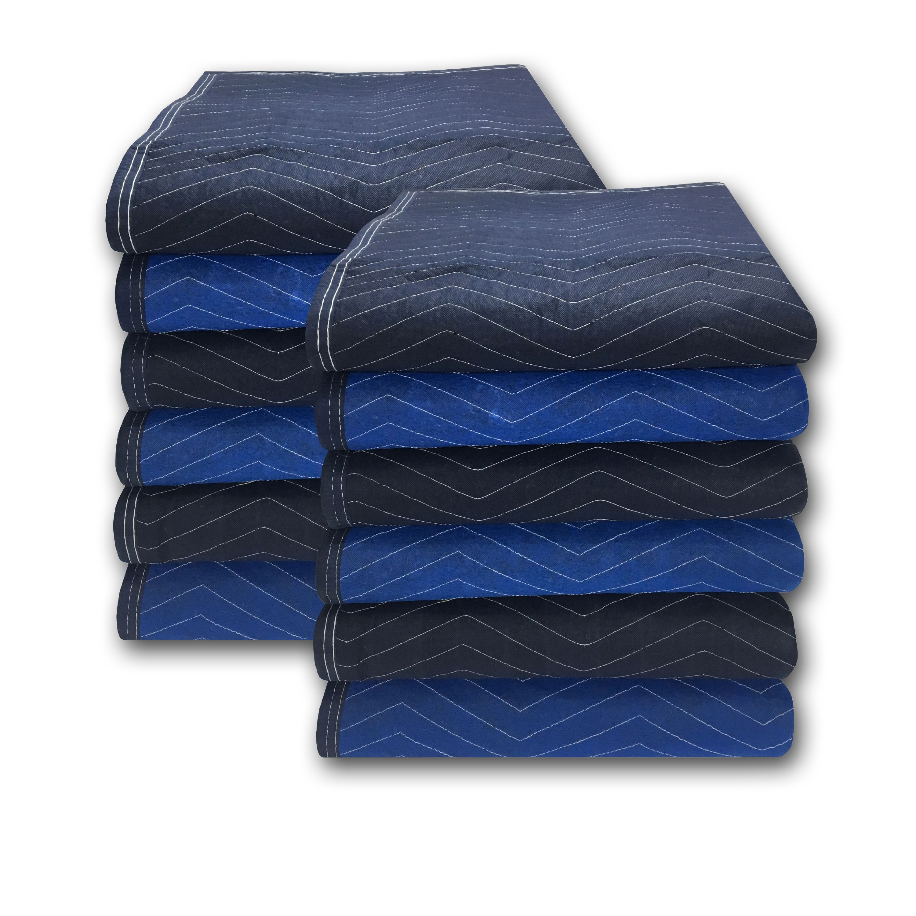 Uboxes Pro Mover Moving Blankets, 72 x 80 in, 6.83lbs each, 12 Pack