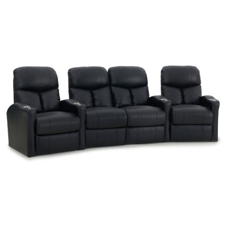 Octane Bolt XS400 4 Seater Middle Loveseat Curved Manual Recline Home Theater Seating ()