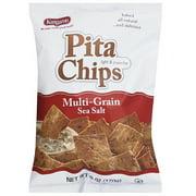 Kangaroo Multi-Grain Sea Salt Pita Chips 6 oz (Pack of 12)
