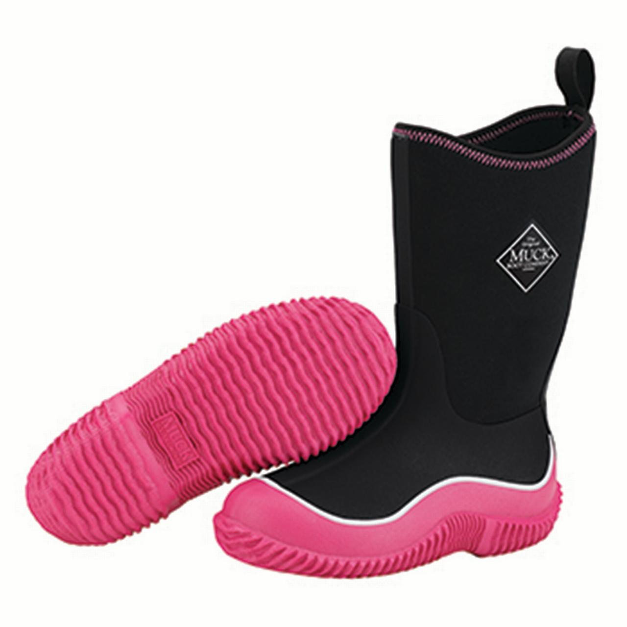 Muck Boot Kid's Hale Snow Boots Pink Rubber 7 Toddler M