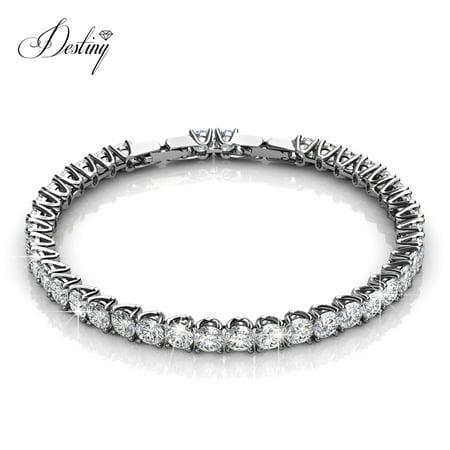e688cf7593ea0 Destiny Jewellery Bracelet Crystals from Swarovski Brass Bracelet ...