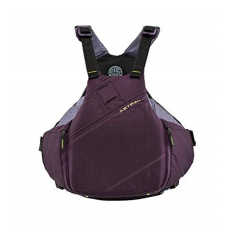 Astral YTV Life Jacket PFD for Whitewater, Touring Kayaking, Sailing and Stand Up Paddle Boarding, Eggplant, Small/Medium