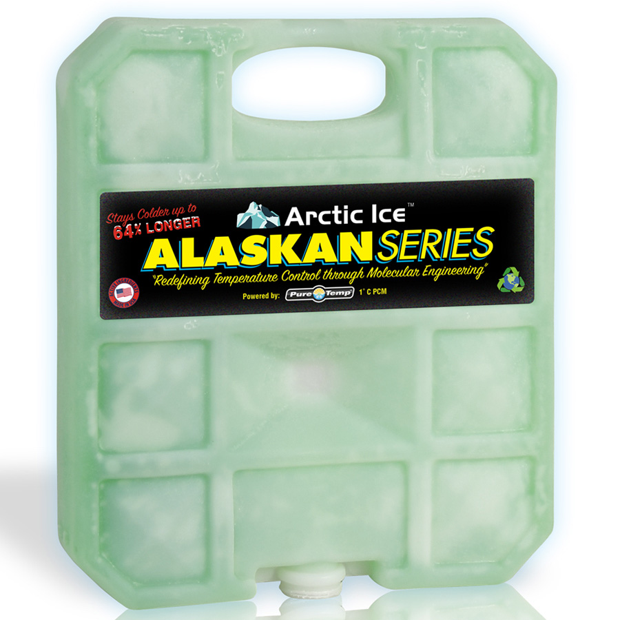 Arctic Ice 1.5 lb Alaskan Series Reusable Cooler