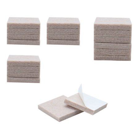 "Felt Furniture Pad Square 1 5/8"" Self Adhesive Anti-scratch Bed Protector 20pcs - image 7 of 7"