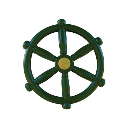 Gorilla Playsets Ship's Wheel Swing Set Accessory - 12