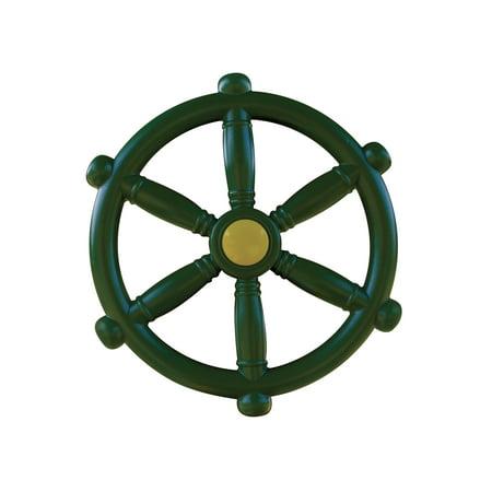 Gorilla Playsets Ship's Wheel Swing Set Accessory - 12