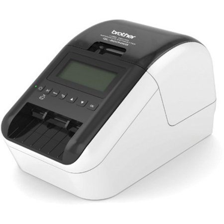 Brother Pc302rf Thermal - Brother QL-820NWB Label Printer - Direct Thermal - Monochrome - Brother QL-820NWB Label Printer - Direct Thermal - Monochrome prints amazing Black/Red labels using DK-2251. Easy to read Backlit Monoch