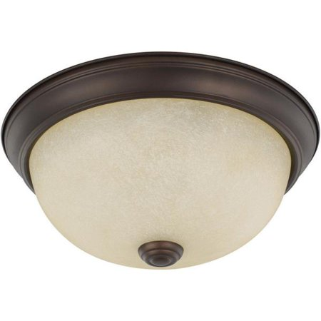 - Capital Lighting Two Light Flush Mount 4.5