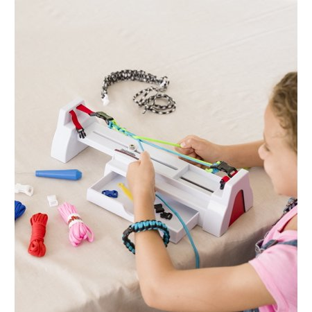 Paracord Colorful Woven Bracelet Maker Weaving Kit with Tools and Instructions](Paracord Bracelet Kit)