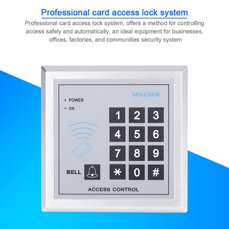 Ejoyous Access Control RFID Reader Electric Password Door Bell Lock System Security Door Access Control,Door Bell, Password Door Lock
