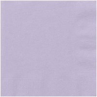 Paper Luncheon Napkins, 6.5in, 20ct (Click to Select Color)