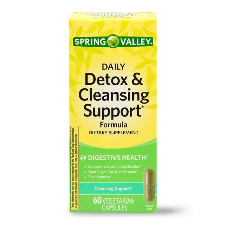 Spring Valley Daily Detox & Cleansing Support Capsules, 60