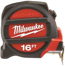 Milwaukee Electric Tool 48-22-5116 Milwaukee Magnetic Tape Measure, 16 Ft. (Pack Of  2)