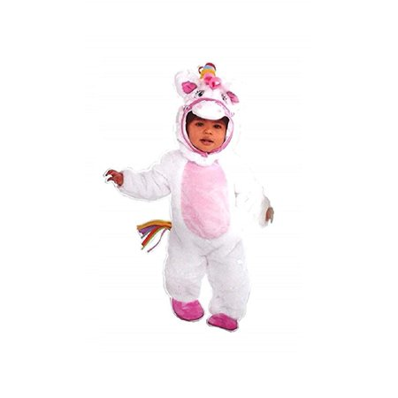 Amscan Mystical Pony Infant's Unicorn Onesie Costume, 3 Pieces, 0-6 Months for $<!---->