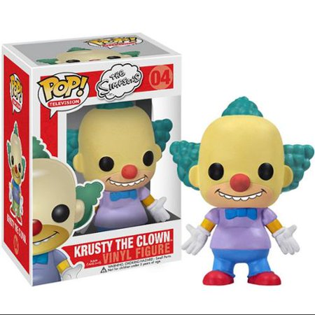 The Simpsons Funko POP! Television Krusty The Clown Vinyl Figure - Krusty The Clown