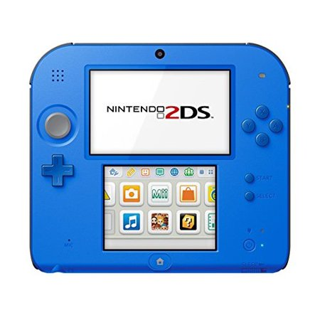 Refurbished Nintendo 2DS Electric Blue With Mario Kart 7 Handheld (2ds Refurbished)