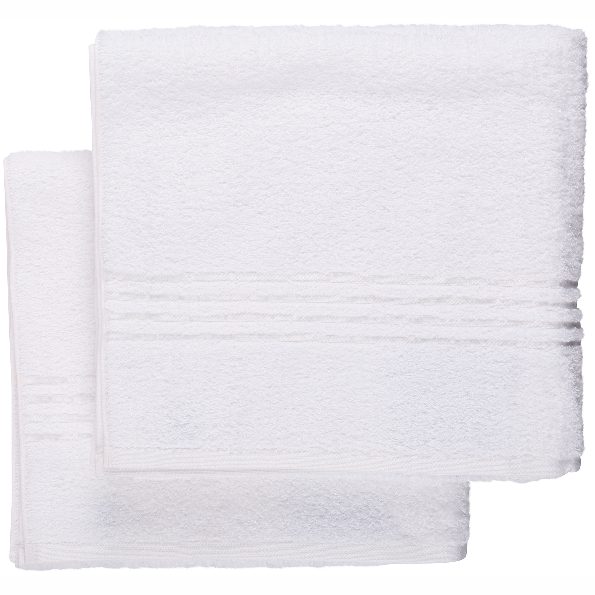 Mainstays Essential True Colors Texture Bath Towel Collection 2 Piece Set by Trident Limited
