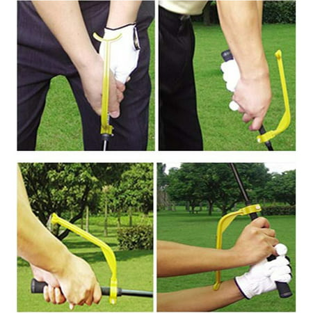 Golf Swing Correct Wrist Trainer Guide Gesture Golf Training Aid