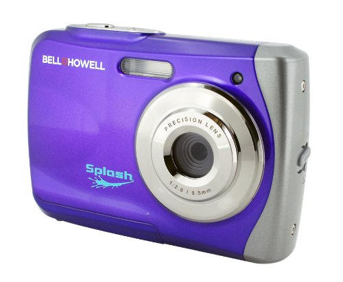 "Bell+howell Splash Wp7 12 Megapixel Compact Camera - Purple - 2.4"" Lcd - 8x - 4032 X 3024 Image - 640 X 480 Video (wp7purple)"