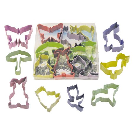Easter Bunny, Duck, Lamb, Butterfly, Umbrella Color Cookie Cutter Set - 1857 - National Cake Supply](Easter Bunny Cookies)