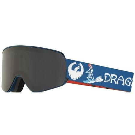 NEW Dragon NFX2 Danny Davis Lumalens Smoke Mens Ski Goggles + lens Msrp$180