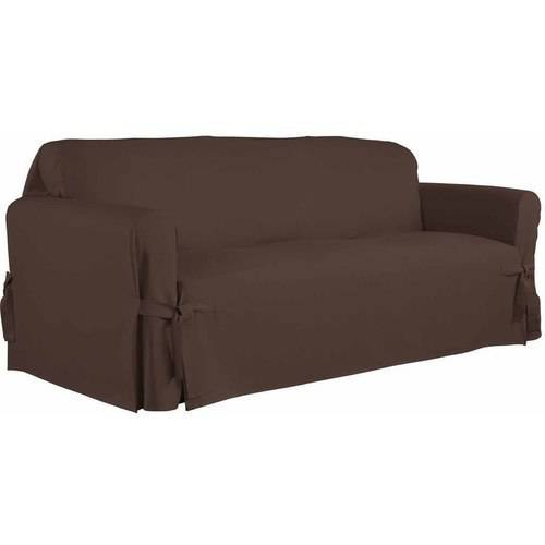 Serta Relaxed Fit Duck Furniture Slipcover, Sofa 1-Piece Box Cushion by Generic