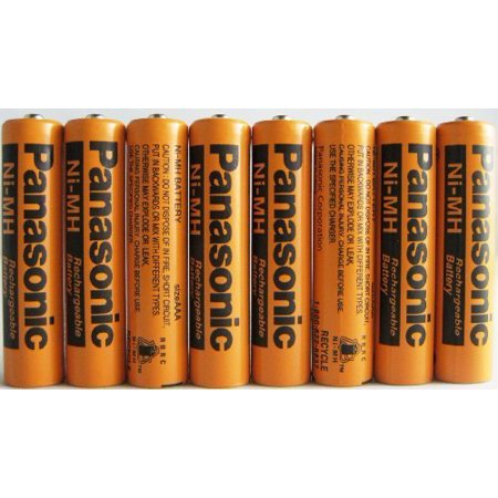 Nimh Square (8 Pack Panasonic NiMH AAA Rechargeable Battery for Cordless)