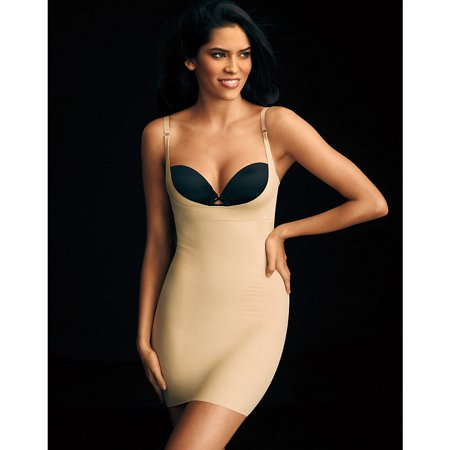 f5c672d121 Flexees - Maidenform Womens Take Inches Off Wear Your Own Bra Slip -  Walmart.com