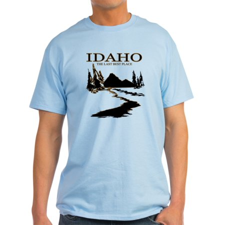 CafePress - Idaho The Last Best Place - Light T-Shirt -