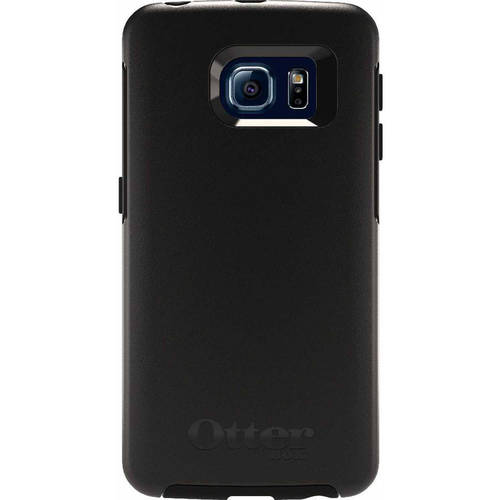 OtterBox Symmetry Series Case for Samsung Galaxy S6 Edge, Black