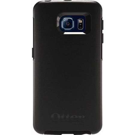 low cost 16112 14fb4 OtterBox Symmetry Series Case for Samsung Galaxy S6 Edge, Black