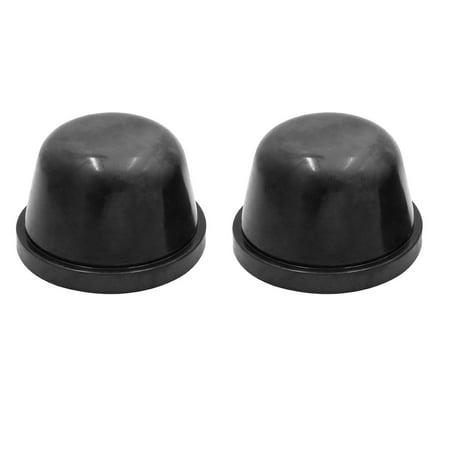 2pcs 83mm Rubber Waterproof Car  HID Headlight Dust Cover Seal Cap Housing
