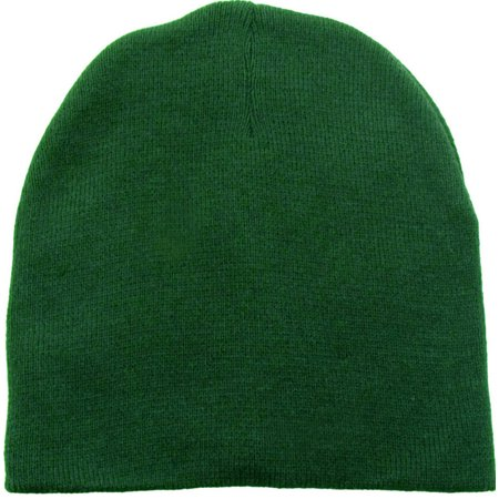 be24154c6 Men & Women's Winter Solid Colored Ski Knit Beanie Hat Ft.Green