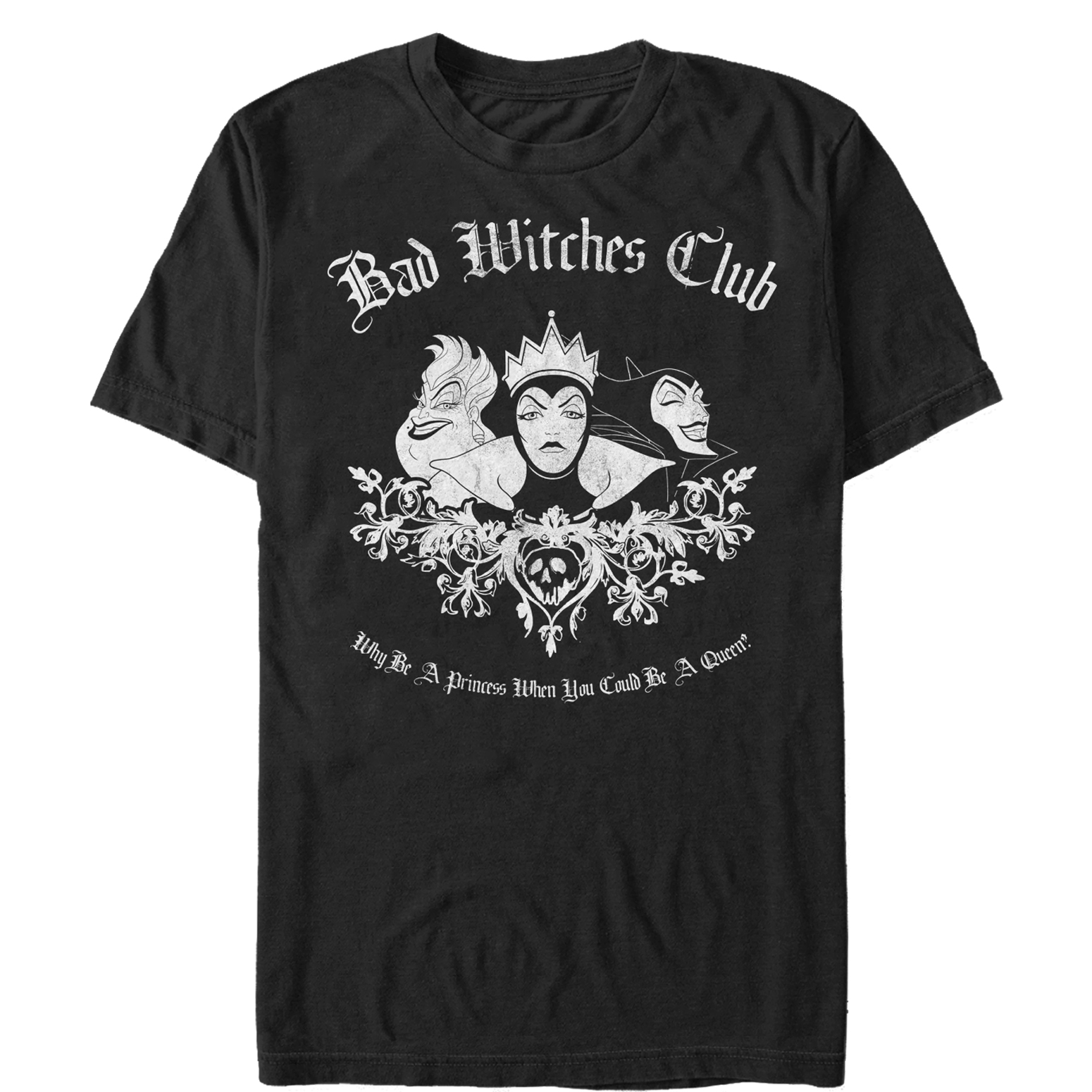 Disney Princess Men's Bad Witches Club T-Shirt