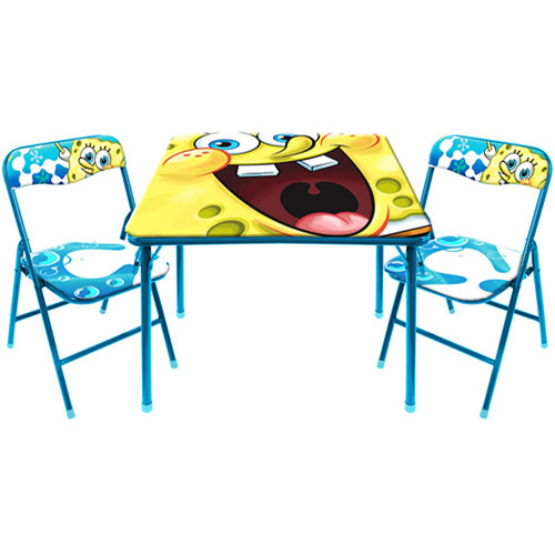 Nickelodeon Spongebob Activity Table and Chair Set