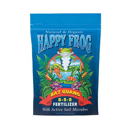 hydrofarm fx14056 4 lb happy frog bat guano - Happy Frog Fertilizer