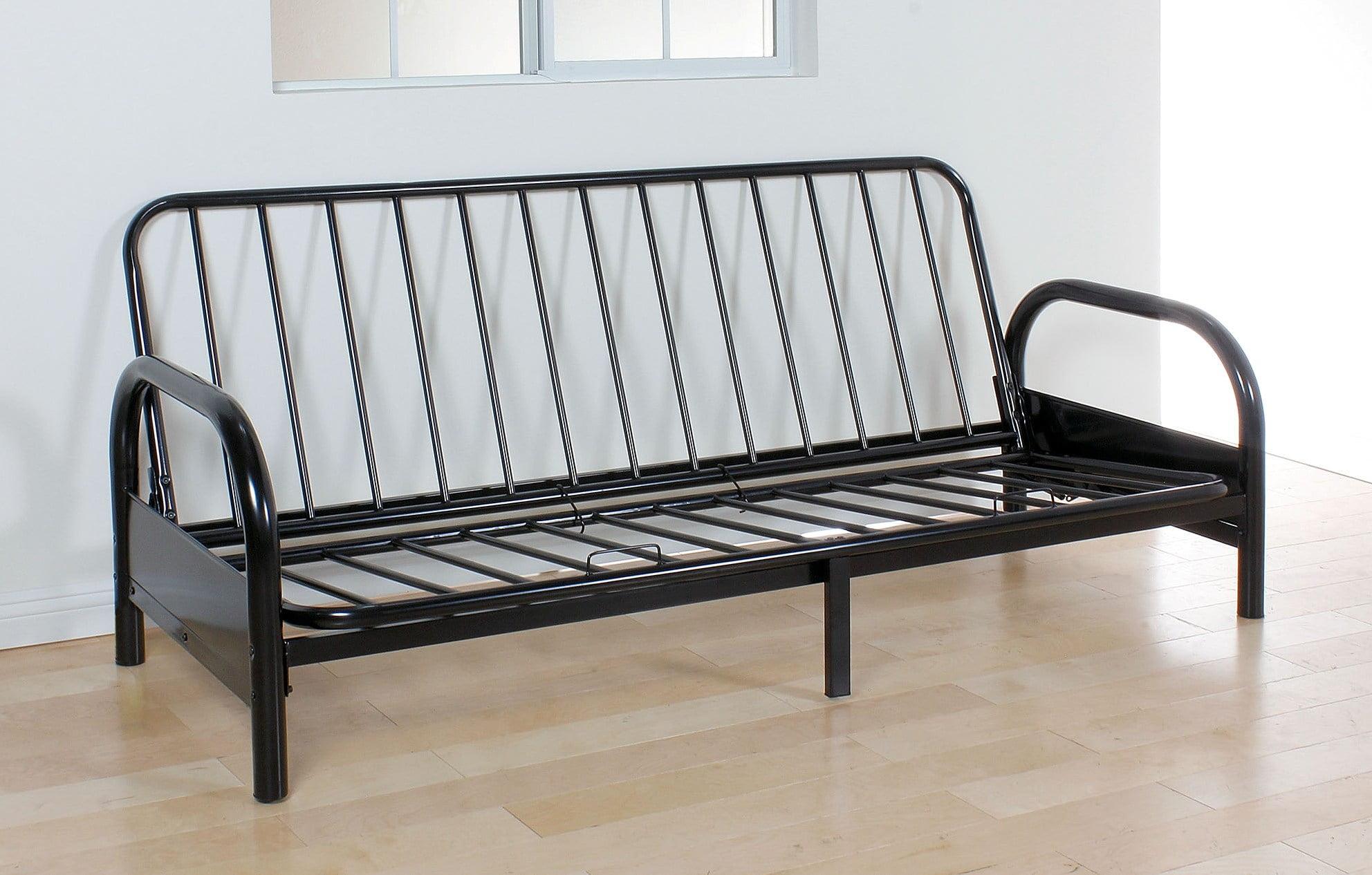 Adjustable Sofa Frame, Black - Metal Frame Black - Walmart ...