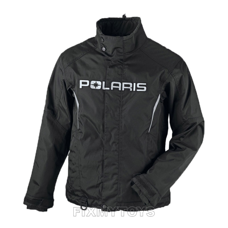 OEM Polaris Mens Snowmobile Black Ripper Jacket Waterproof