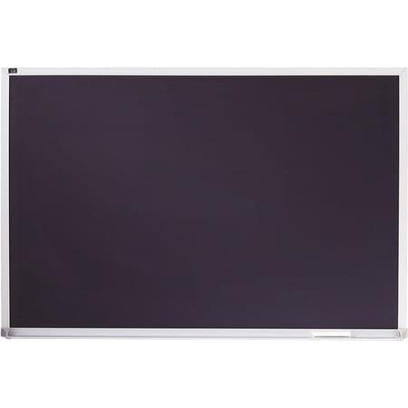- Quartet Porcelain Black Chalkboard, Magnetic, 2' x 3', Aluminum Frame