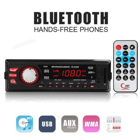 Bluetooth Catuo 8288 Car 1 DIN FM Radio Stereo Digital Media AUX-IN MP3  Player