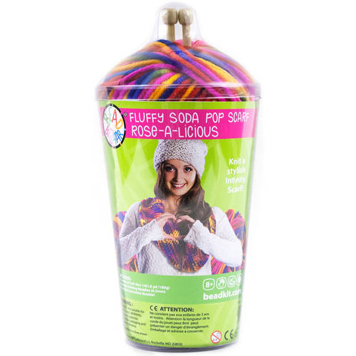 Soda Pop Scarf Knitting Kit