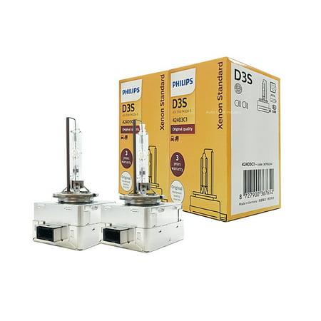 Philips D3S 4300K 35W Standard Xenon HID Headlight Bulb, OEM