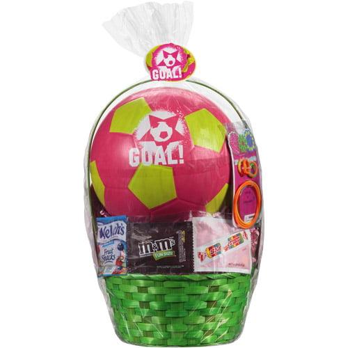 Goal Soccer Easter Basket