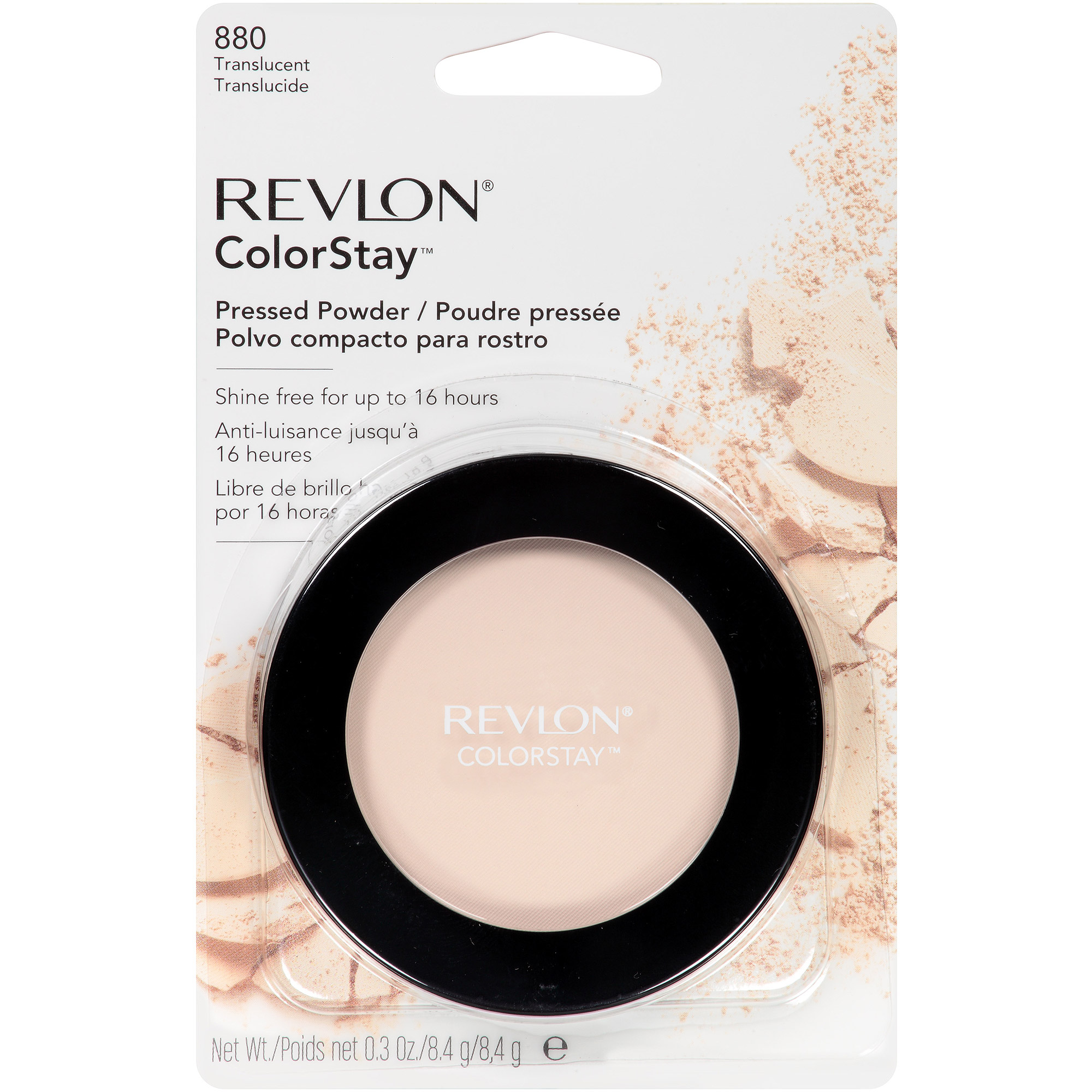 Revlon ColorStay Pressed Powder, 880 Translucent, 0.3 oz