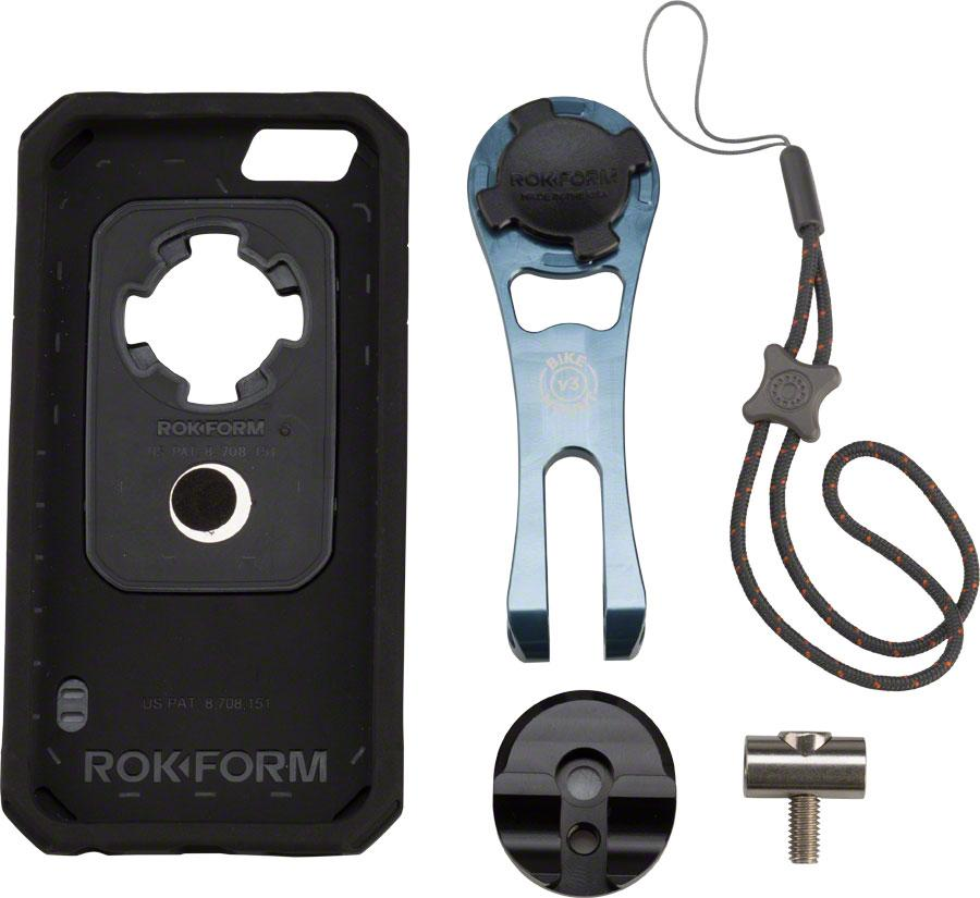 Rokform V3 Bike Mount Bundle iPhone 6 Case: Black