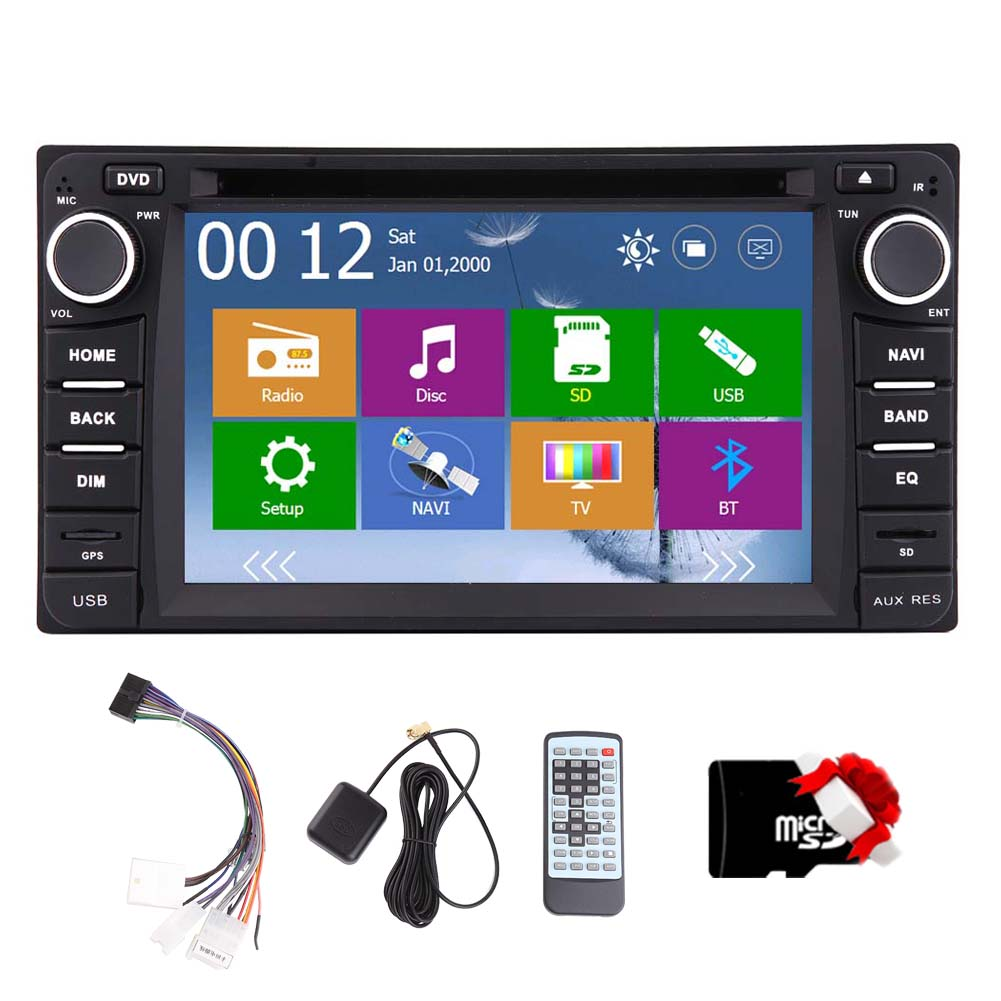 FM AM 3D GPS Navigation Car Stereo Video Car DVD Player f...