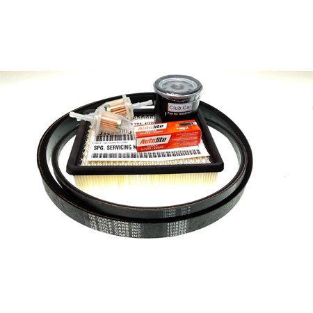 CLUB CAR DRIVE/STARTER BELT with TUNE UP KIT 1994 DS 1016203 (Tuna Belt)