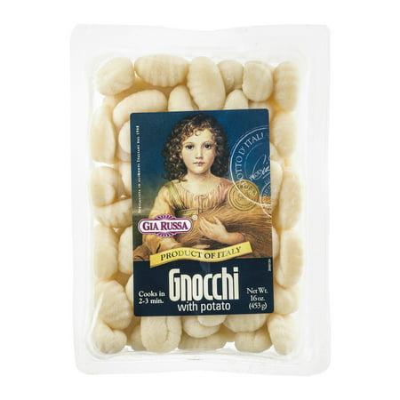 (3 Pack) Gia Russa Gnocchi with Potato, 16 oz (Pasta Potato)