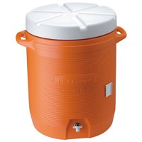 Rubbermaid FG16100111 10 Gallon Orange Water Cooler