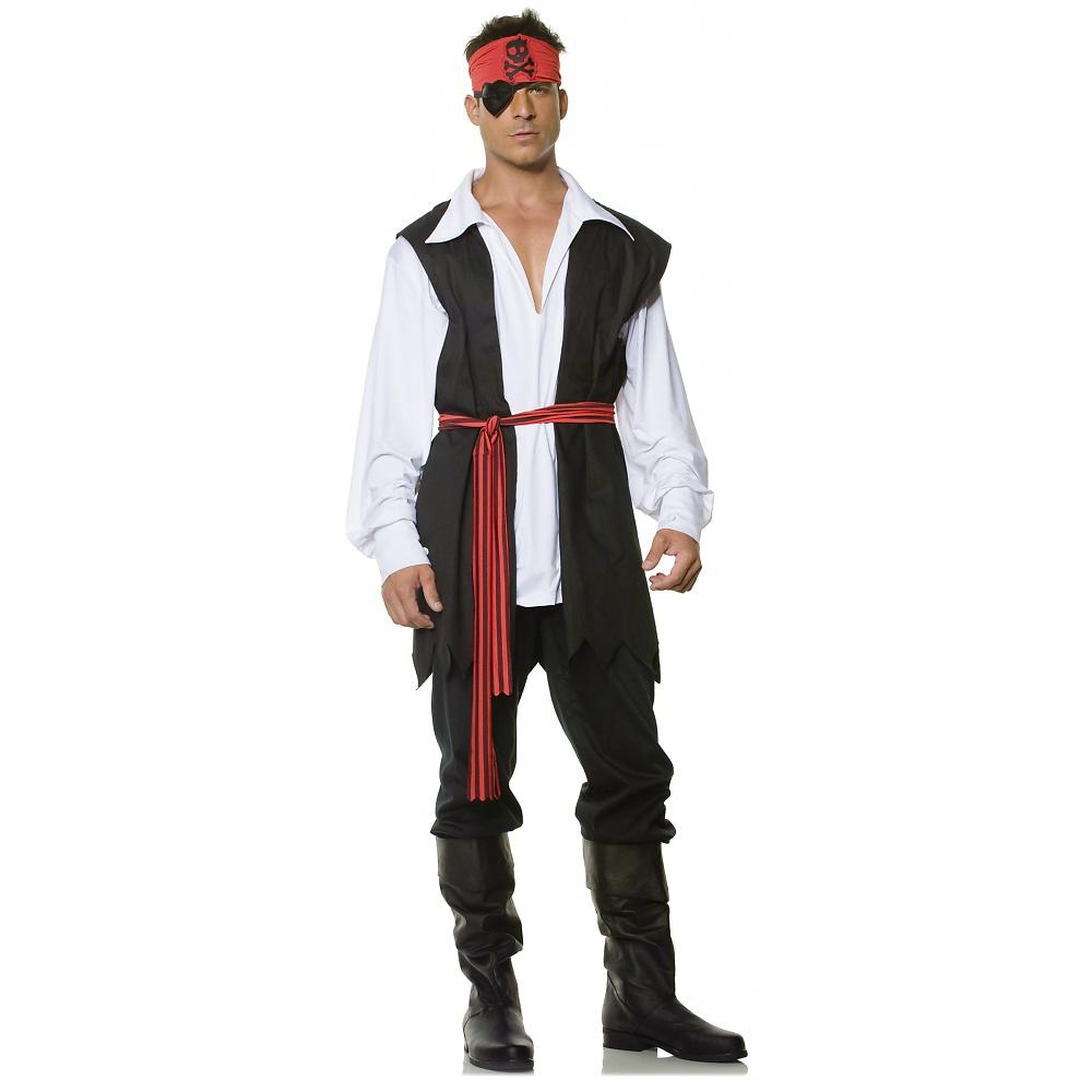 Buff Buccaneer Adult Costume - Small